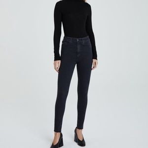 AG The Mila Super High Rise Skinny Jeans J12